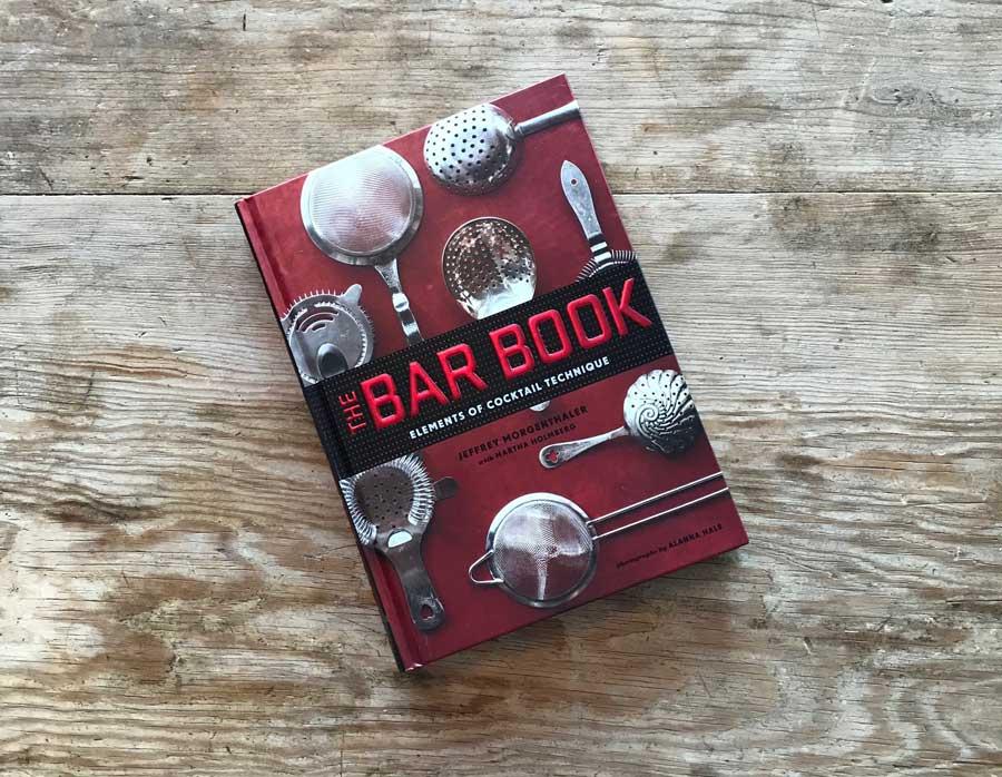 The Bar Book by Jeffery Morgenthaler