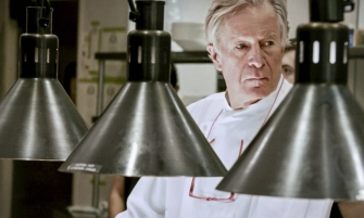 Jeremiah Tower, possibly on a lot pf peyote.