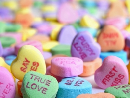 No sweethearts candy for you!!!!