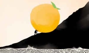 David Chang and the Giant Peach