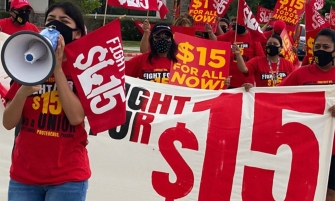 Photo: Fight for $15